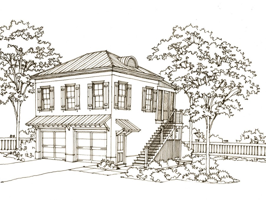 Carriage House Plans Southern Living Numberedtype