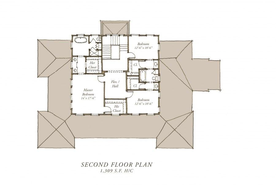 28 carolina island house plan 481 carolina island for Our town house plans
