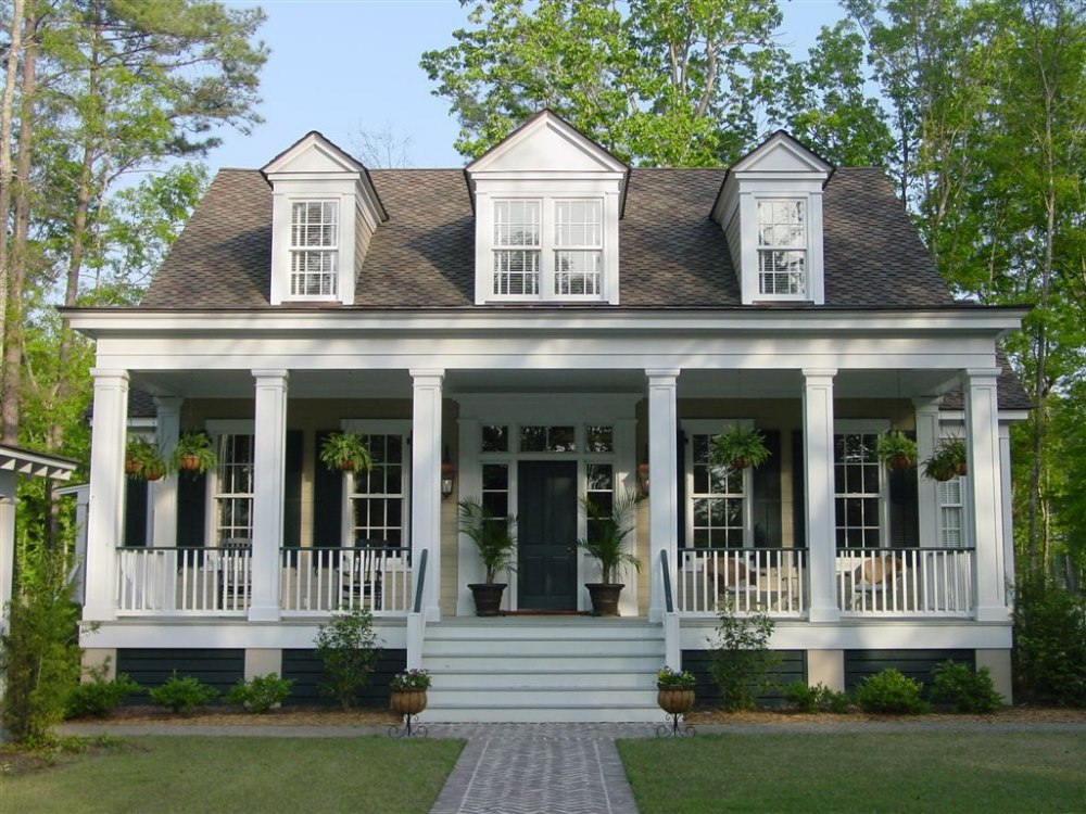 Our town plans for Low country house plans with porches