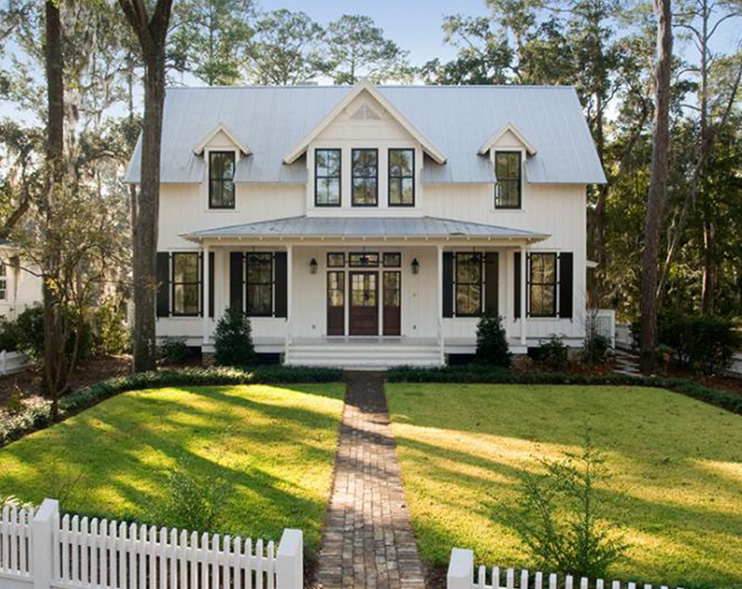 Low country house plans south carolina for Low country farmhouse plans